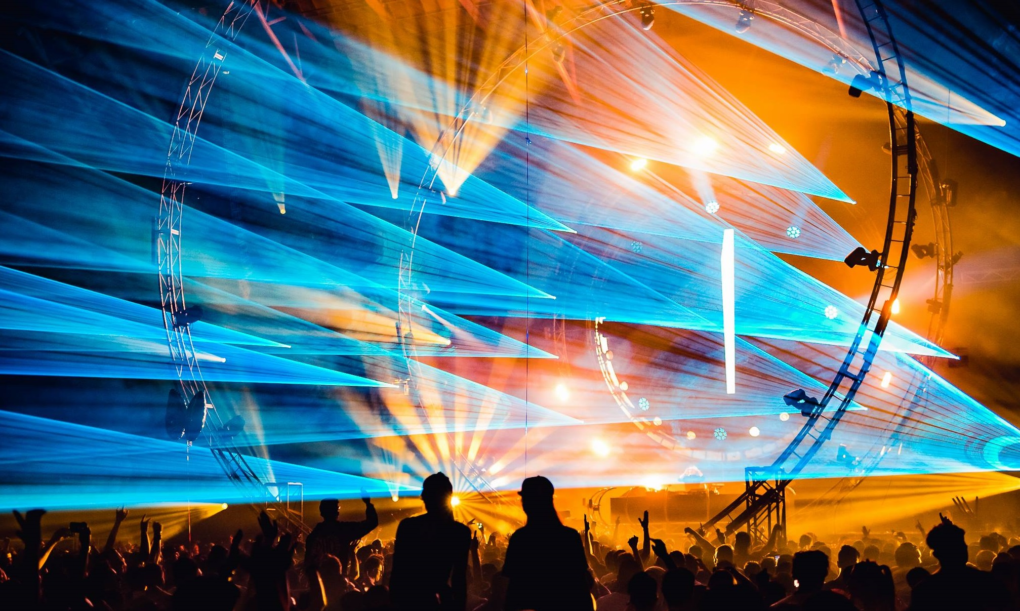 Dreamstate Melbourne 2016 lasers