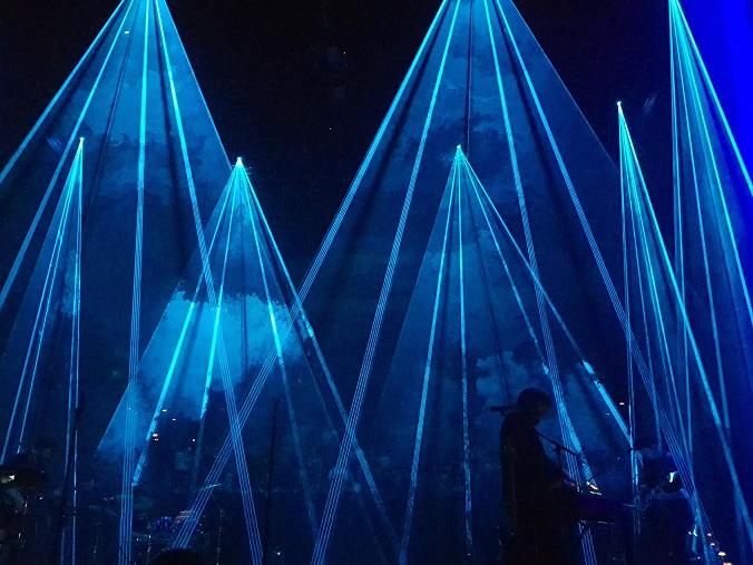 Chet Faker Vivid Sydney Opera House lasers