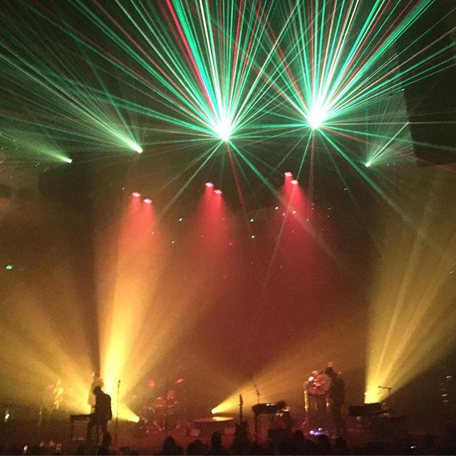 Nick Murphy Vivid 2017 lasers