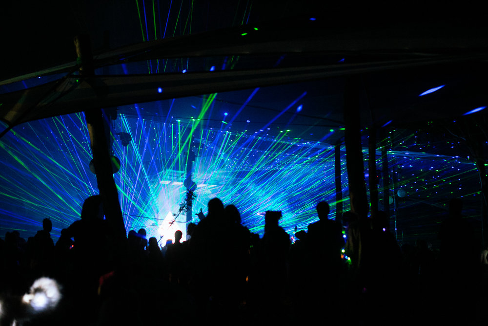 Strawberry Fields 2016 lasers