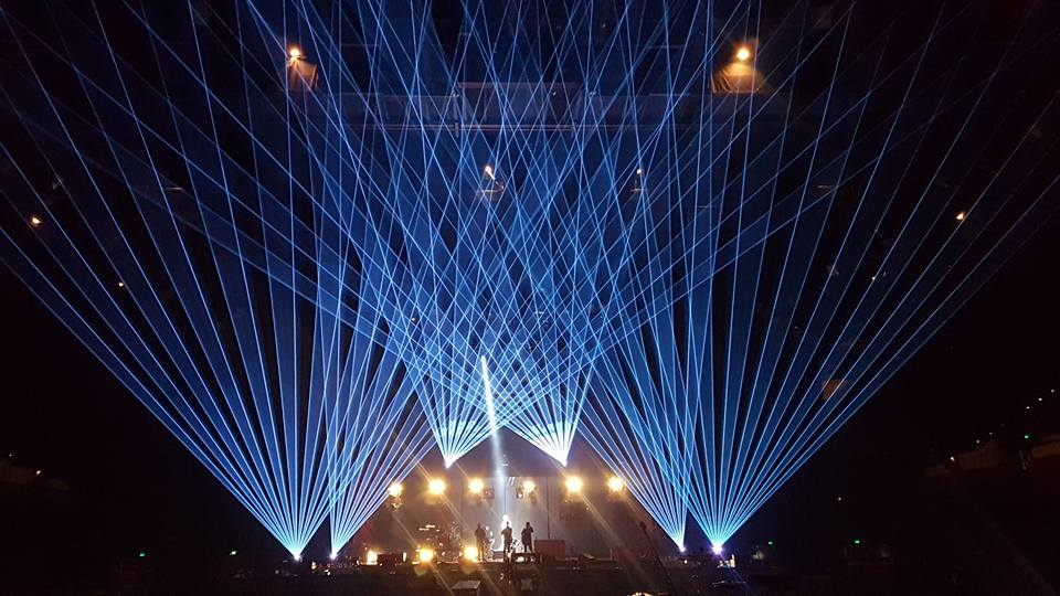 Twenty One Pilots Aus/Nz tour 2017 lasers