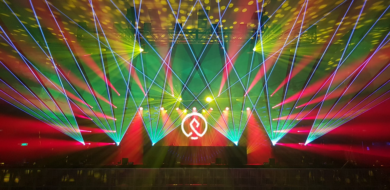 Istoria Armin Van Buuren lasers
