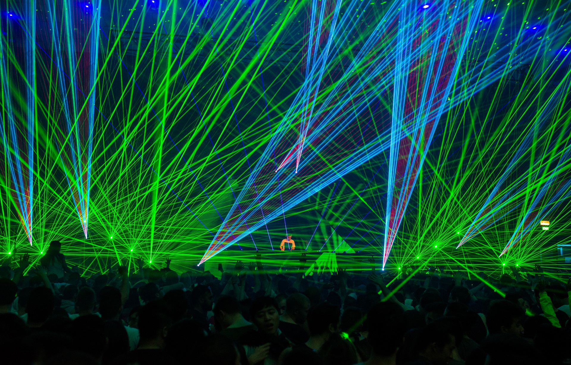 Future sound of Egypt lasers