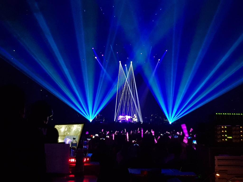 Jay Chou Sydney 2018 lasers